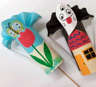 園小混合クラス5月2回目・飛び出すおもちゃ