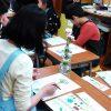 小学生クラス3月2回目・見て描こう「カーネーション」