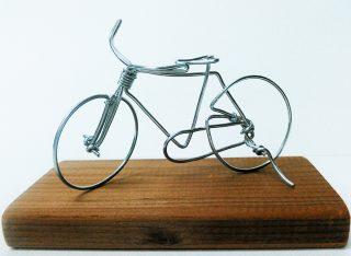 小学生クラス3月1回目・メタルワークス「自転車」