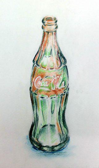 絵画クラス8月の制作・えんぴつ画