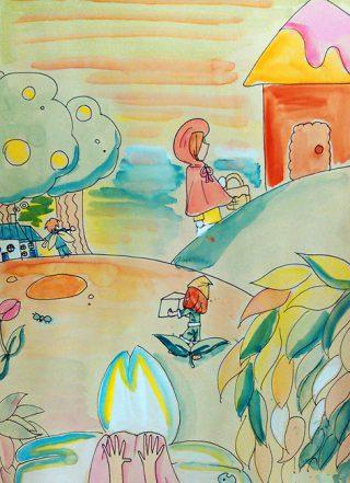 小学生9月1回目・詩のイメージ