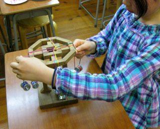 小学生クラス1月1回目・組紐
