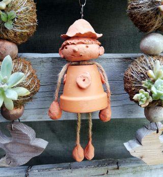 園小混合クラス6月2回目・植木鉢人形