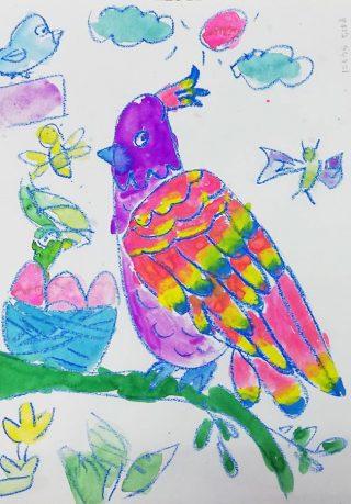 園小混合クラス12月1回目・まぼろしの鳥
