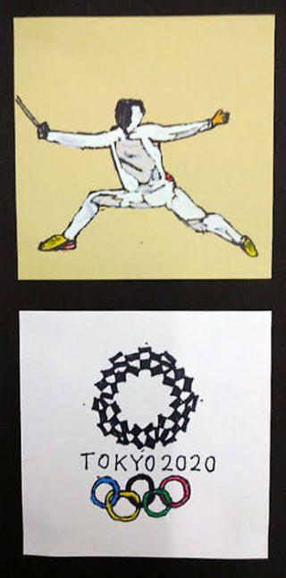 小学生クラス10月2回目・オリンピックを描く